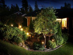 Garden lights in Jacksonville, FL