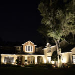 Exterior home lighting installed by Pro Lighting Outdoors