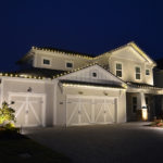 Garage door lights from Pro Lighting Outdoors