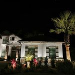 professionally installed exterior lights in Jacksonville