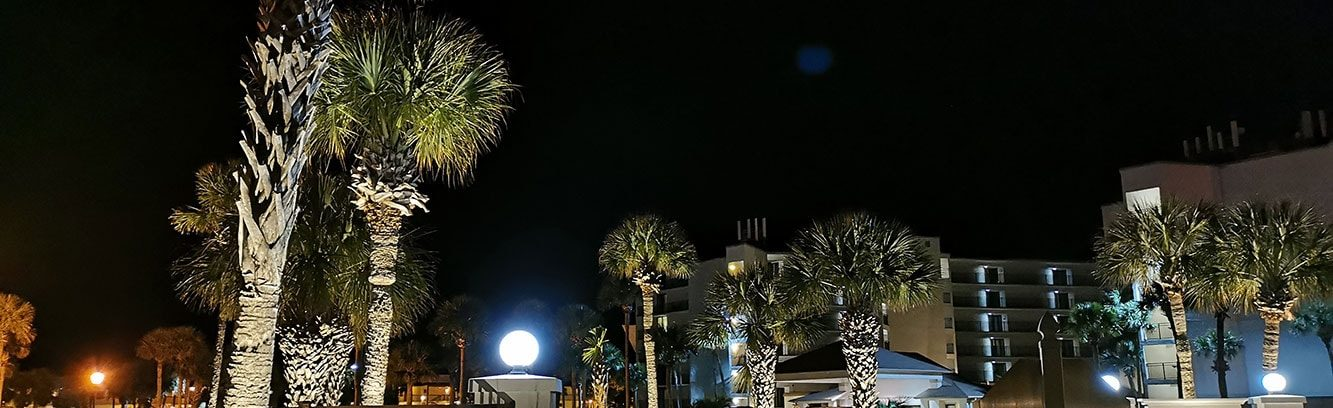 Commercial outdoor lighting installed by Pro Lighting Outdoors