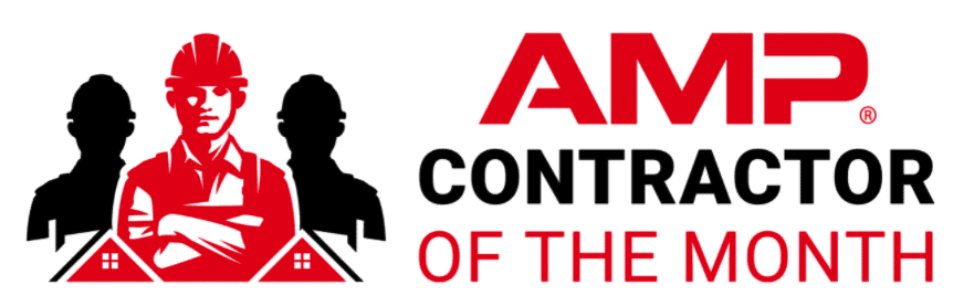 AMP Contractor of the Month logo